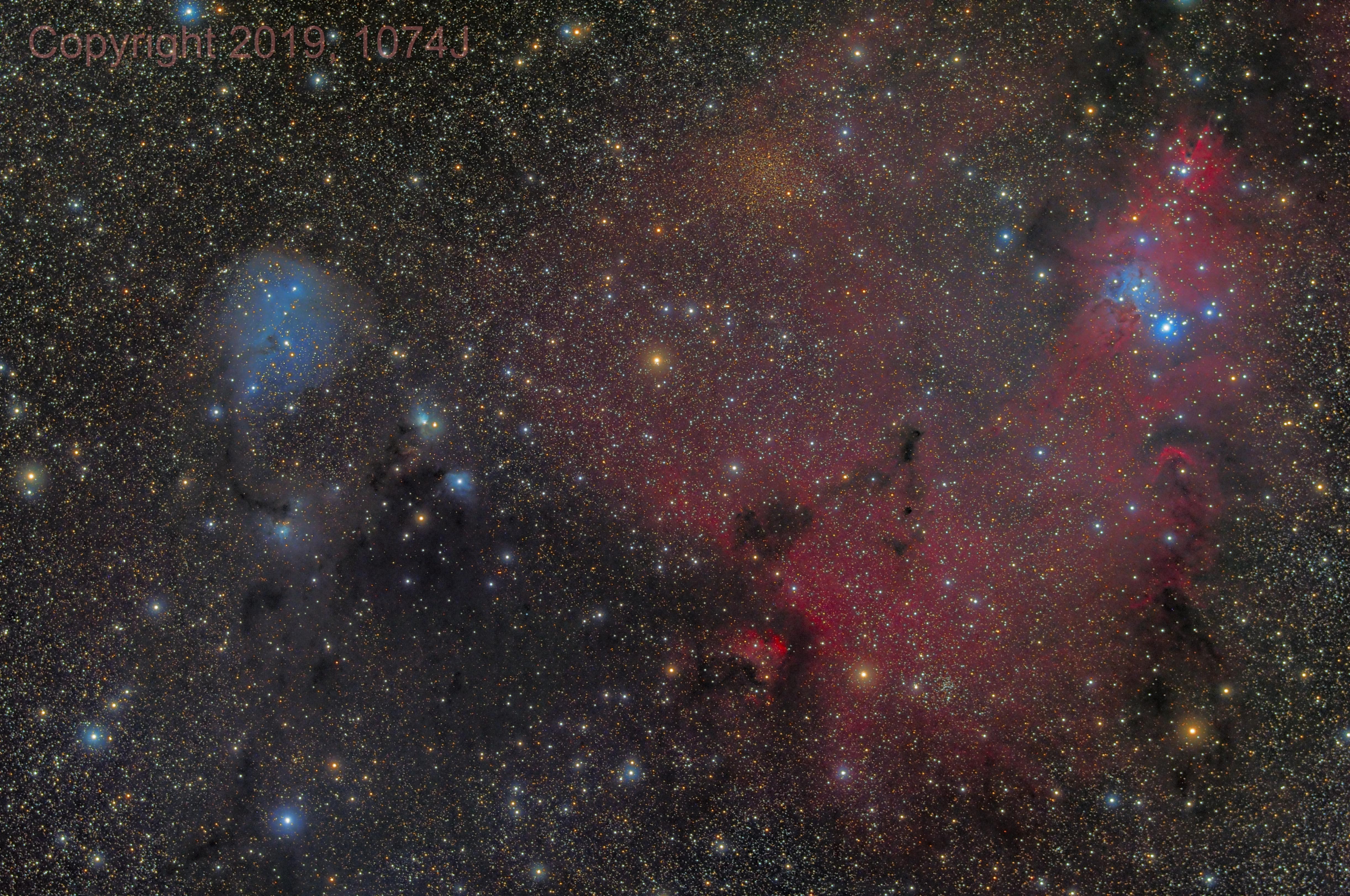 IC 2149 to the Cone Nebula,                                1074j