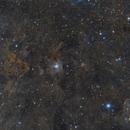 NGC 7023 Iris nebula wide field,                                Ivan Bosnar