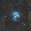 M45 widefield,                                Wilson Yam