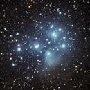 M45 - Pleiades with Sony A7S,                                Norbert Reuschl
