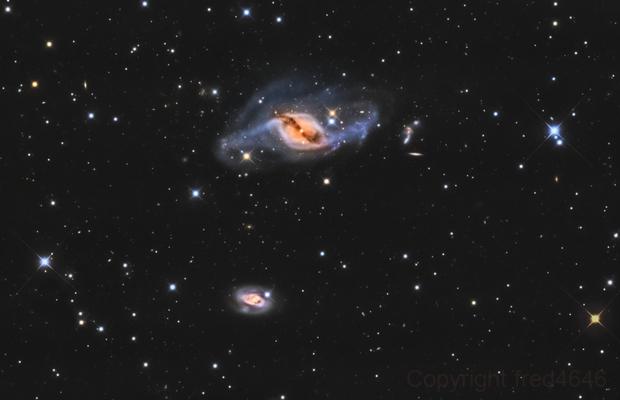 NGC 3718 LRGB,                                LAMAGAT Frederic