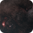 Lagoon Nebula (M8), Trifid Nebula (M20), Sagittarius Star Cloud (M24),                                falke2000