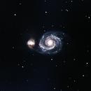 M51 with L-pro filter,                                Benjamin hartman