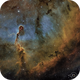 IC1396 and his mixes of glowing cosmic gas,                                Daniel Pázmán