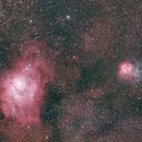 M8 and M20 -  Lagoon Nebula and Trifid Nebula,                                Ray's Astrophotography