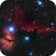 Flame- and Horsehead-Nebula in Orion,                                Stefan Schmidt