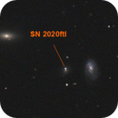 SN 2020ftl in NGC 4277 (in field with many others),                                CCDMike