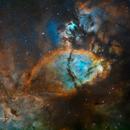 IC1795 - Fish head nebula,                                Tim Hutchison