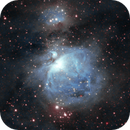 Orion in Ha-NIR bicolor,                                Andreas Dietz