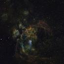 NGC 6357 - Lobster Nebula,                                starlord