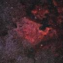 Nord America e Pellican Nebulae,                                Peppe.ct