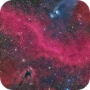 M78, A Red Smile and LDN 1622,                                Hytham