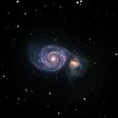 Whirlpool Galaxy,                                David Schlaudt