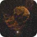 IC 443 in Narrowband with very low exposition time,                                Karlov