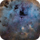 IC410 - La nebuleuse des têtards,                                ZlochTeamAstro