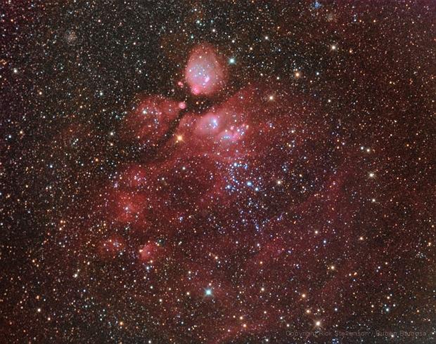 NGC456 region on SMC,                                Ruben Barbosa