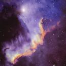 Cygnus Wall (Hubble Color Palette),                                Joel Quimpo