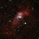 NGC7635: The Bubble Nebula (HOO) (2019),                                Daniel Tackley