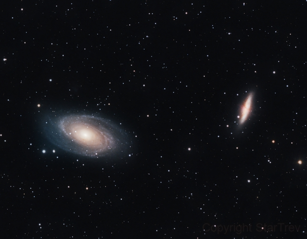 M81 and M82, Bode's Galaxy and the Cigar Galaxy,                                Trevor Gunderson