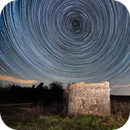 Star trails,                                Maja Kraljik