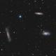 Leo Triplet - M65 M66 NGC 3628,                                Victor Van Puyenb...