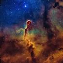 Elephant Trunk nebula (SHO),                                Andrew Gutierrez
