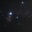 Horsehead and Flame Nebula,                                Matthias Domke