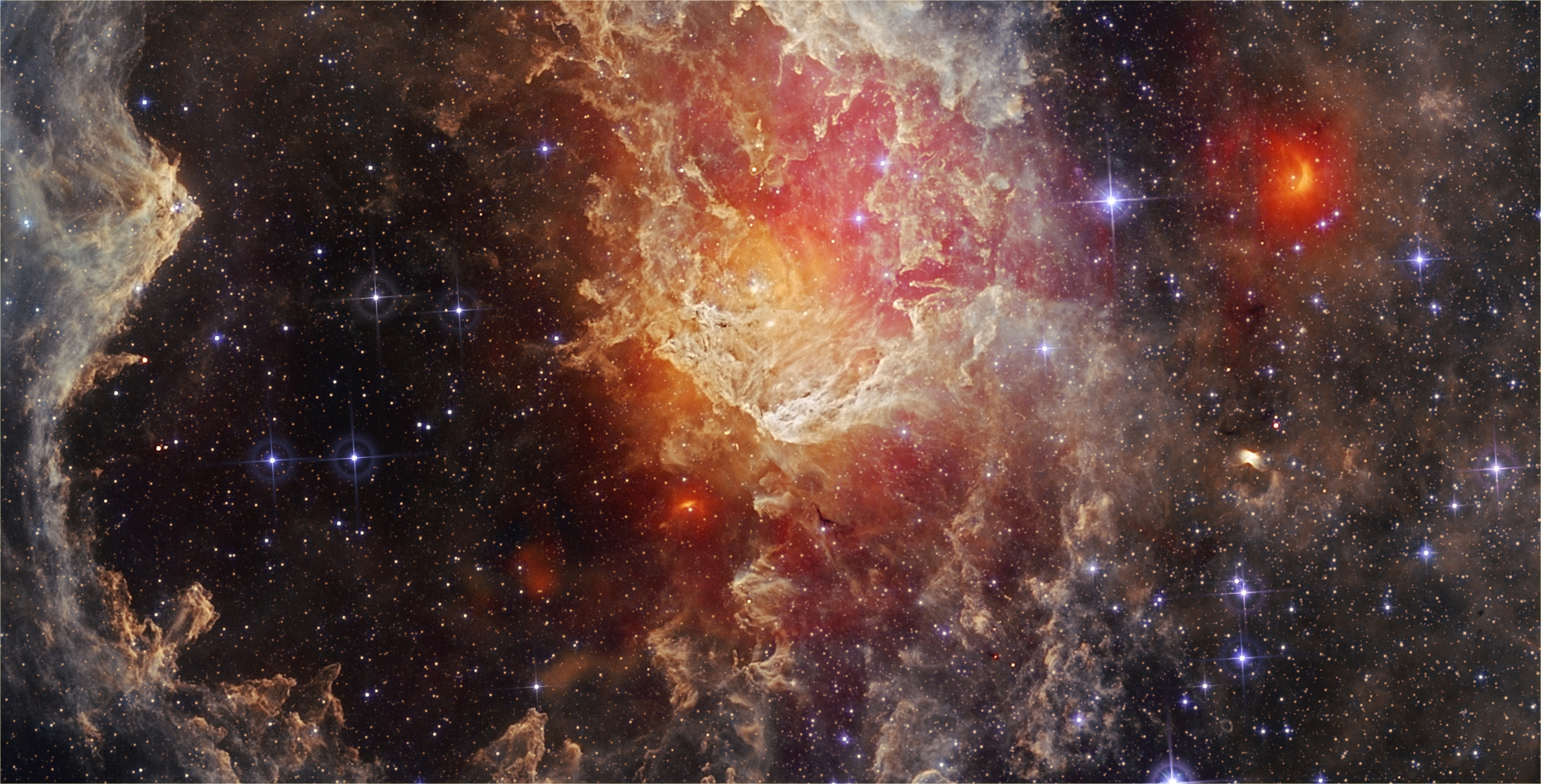 NGC 7822 - WISE IRSA,                                Francesco Antonucci