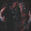 Veil nebula in HOO,                                Sponge