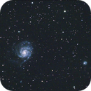 M101 from a RedCat 51 and ASI183MC Pro,                                Gregg Williams