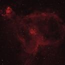 IC 1805 - Heart nebula,                                Sébastien Kesteloot