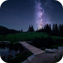 Milky Way over Tipsoo Lake, Mt. Rainier,                                Charles Pevsner