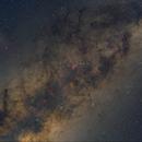 Wide-field Milky Way with Jupiter / Scorpius,                                Martin Junius