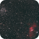 NGC 7635 and M52,                                Eric Solomonson