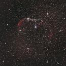 Crescent Nebula with stock DSLR,                                Michele Vonci