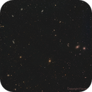 Markarian's chain of galaxies in virgo,                                Frédéric Girard