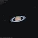 Saturn and its moons,                                Massimiliano Vesc...