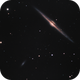 NGC 4565, 4562 - full LRGB,                                Rodolphe Goldsztejn