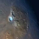 "Aristarchus Crater and Vallis Schroteri  (RGB ""mineral"" Moon),                                Łukasz Sujka"