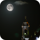 Moon over Saints Peter and Paul Church, Athlone, Ireland,                                Antonio.Spinoza