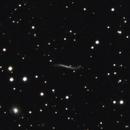 "UGC 3697 (The ""Integral Sign"" galaxy),                                gigiastro"
