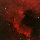 NGC 7000,                                Grzegorz Fryń