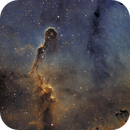 Elephant's Trunk nebula - My very first SHO image ;-),                                Thomas Richter