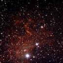 Flaming Star Nebula,                                TheOldDad
