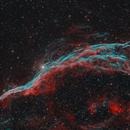 Witch's Broom Nebula  (NGC 6960),                                JMDean