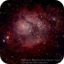 Nebulosa de la Laguna,                                Héctor Henríquez Leighton