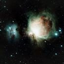 M42, Orion Neblua,                                Douglas Thomas