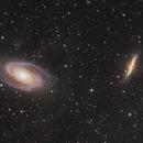 Bode's Galaxy and the Cigar Galaxy,                                StarSurfer Carl