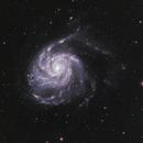 M101 Hα-LRGB,                                Uwe Deutermann