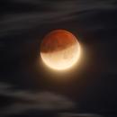 Partial Lunar Eclipse - 16.07.2019,                                Tristan Campbell